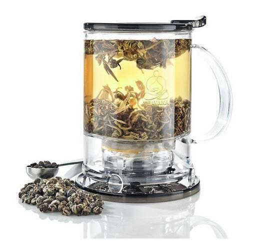 Price: $19.95Description: A perfect gift for a tea lover. It brews 16 ounces of tea (two cups) in your favorite mug.Click here to buy