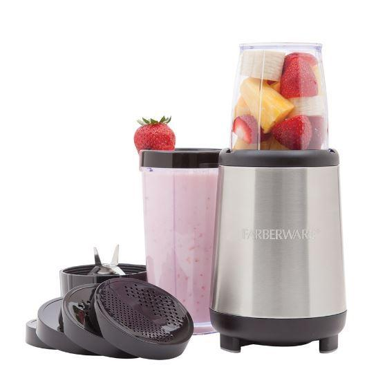 Price: $19.94Description: This Faberware 17-piece Rocket Blender is exclusively sold at Wal-Mart and has great reviews. Could be a thoughtful gift for a health-conscious friend or family member.Click here to buy