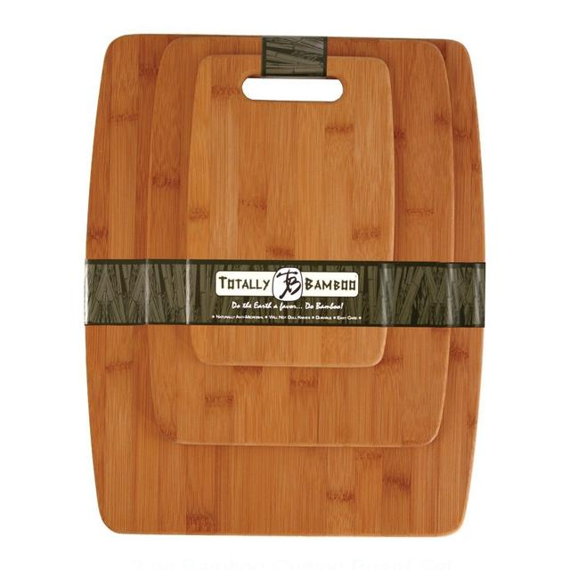 Price: $17.77Description: This Totally Bamboo 3-piece set is great for the cook you know. Every cook needs quality cutting boards.Click here to buy