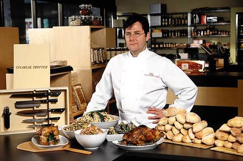 Charlie Trotter launched Trotter's To Go, a takeout shop that sells prepared foods as well as retail items, in 2000.
