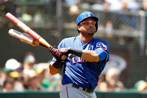 Texas Rangers outfielder Nelson Cruz.