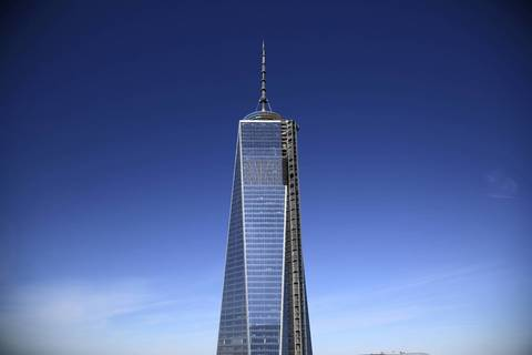 One World Trade Center in lower Manhattan will be the tallest building in the U.S. once it's completed in 2014.