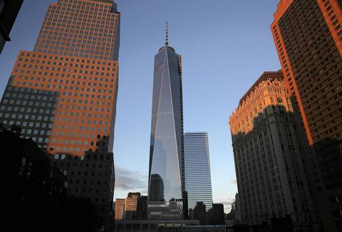 One World Trade Center in New York beat out the Willis Tower for the title of tallest building in the United States.