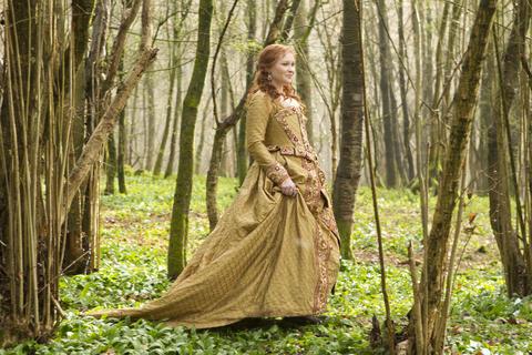 Joanna Page as Queen Elizabeth