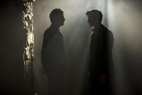 The 10th Doctor (David Tennant, left) and The 11th Doctor (Matt Smith)