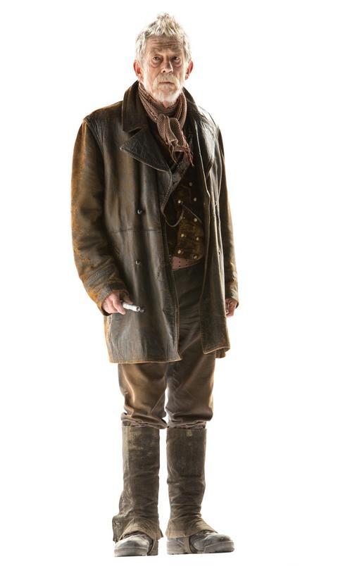 John Hurt as the Doctor