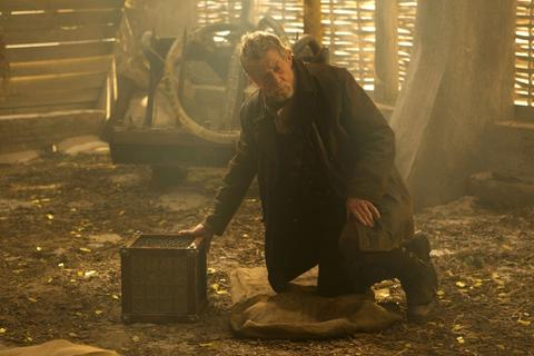 John Hurt as the mysterious other Doctor