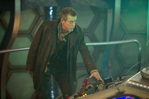 """John Hurt as The Doctor in the 50th Anniversary Special, """"The Day of the Doctor."""""""
