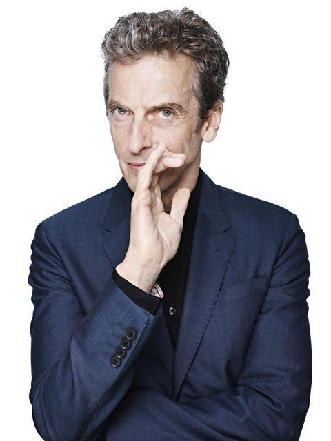Peter Capaldi, who will play the 12th Doctor Who.