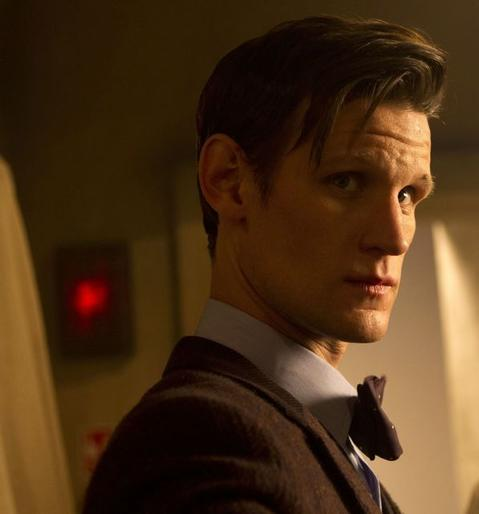 """Matt Smith as the 11th Doctor in the 50th Anniversary Special, """"The Day of the Doctor."""""""