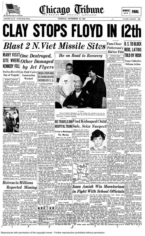 an essay on the assassination of john f kennedy President john f kennedy decided to travel to texas to smooth over frictions the working papers and primary documents were sealed until 2029 under.