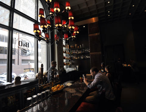 Drinking downtown typically isn't cheap, but B&O American Brasserie does its part with a happy hour filled with good deals ($5 cocktail of the day, half-priced burgers and pizza).   2 N. Charles St., Downtown | 443-692-6172, bandorestaurant.com