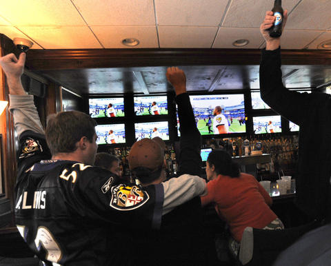 O'Donnell Square's best sports bar boasts enough TVs that, no matter your team, you'll have a good view of the game.   2900 O'Donnell St., Canton | 410-675-9235, looneyspubmd.com