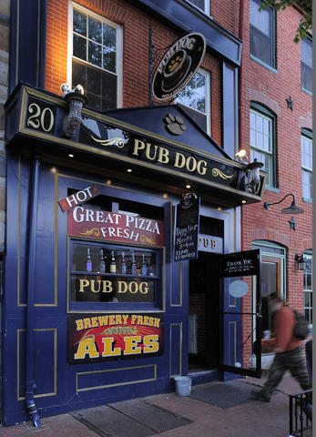The pizza is solid, but we come for the house beer, which only costs $4.50 for two 8-oz. glasses.   20 E. Cross St., Federal Hill | 410-727-6077, pubdog.net