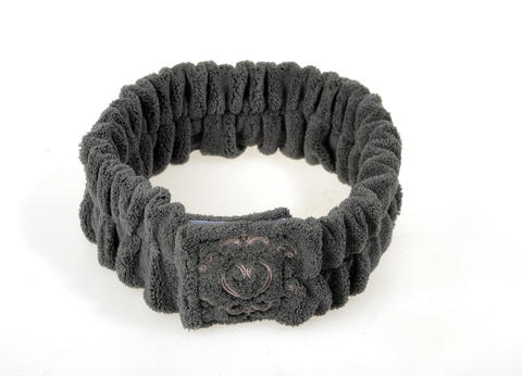J'adore spa headband feels as luxurious as one you'd find in a posh salon or spa.  Use during at-home facials, or during binge TV-watching with a favorite snack. $12 at Vintage Bliss Boutique