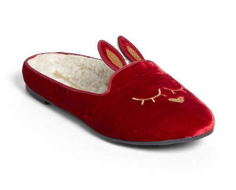 The sleeping bunny slippers from Marc by Marc Jacobs are an update to the classic style. $198 at Nordstrom