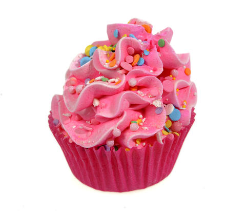 Take this cupcake bath bomb and drop it in your bath water for a treat that won't go to your hips. $12.50 at Greetings & Readings