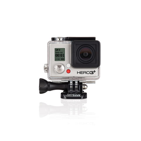 The ultimate necessity for amateur action filmmaking, GoPro¿s new Hero3+ is the brand's smallest and lightest mountable camera yet. $399.99 at Marine Max