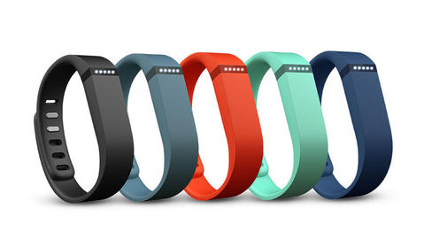 The FitBit Flex Band is all you need to track calories, steps, sleep and more. $99.99 at Best Buy.