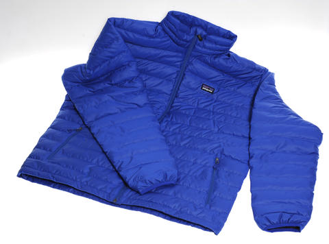 The Patagonia Down Sweater is lightweight and super-warm for outdoor adventures. $219 at Princeton Sports.