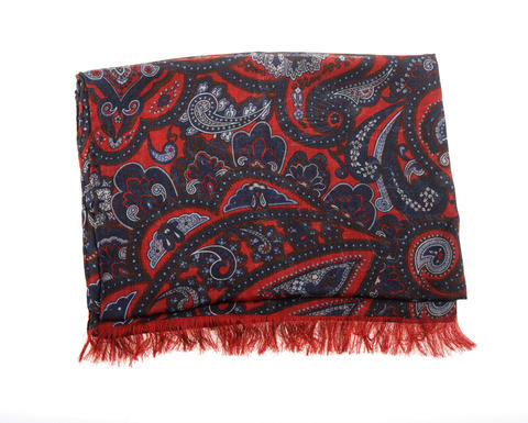 Cashmere scarf by Dolce Punta. $695 at Gian Marco Menswear.