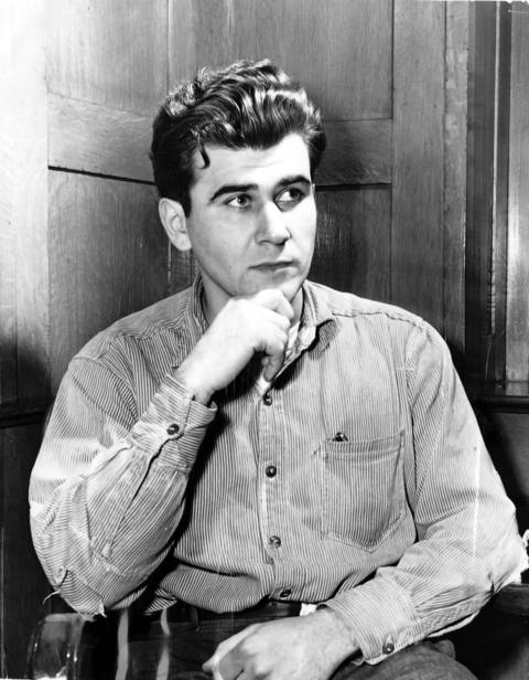 Convicted killer Willilam Heirens in Stateville Prison in Joliet, Ill., on Jan. 23, 1954. He was convicted of killing 6-year-old Suzanne Degnan.
