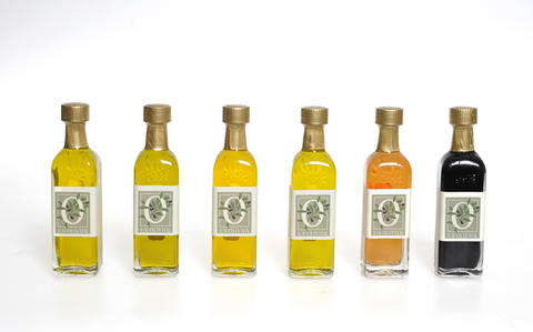 Sampler gift set explores a variety of olive oils and balsamic vinegars for cooking or serving. $35 at E.N. Olivier