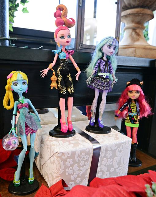 3. Monster High dolls. In Mattel's third quarter, worldwide gross sales for girls brands minus Barbie soared 28% year over year. The El Segundo company said the surge was primarily driven by Monster High sales.