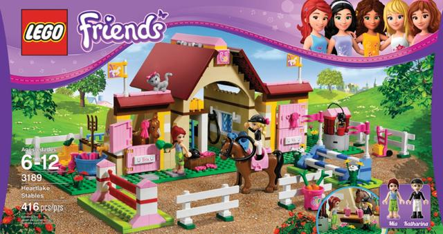 "7. Lego/Lego Friends. The product line was launched last year. Lego said the Lego Friends product is enjoying ""a strong second year, with growth rates significantly higher than the company average."""