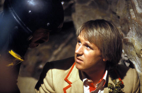 """TARDIS tenure: 1981-84 Peter Davison presided over a more science-based tenure of """"Doctor Who."""" His Doctor was clever, kind and the first to express a distaste for violence, although he battled many classic foes, including the Master, Cybermen, Omega, the Black Guardian and the Silurians."""
