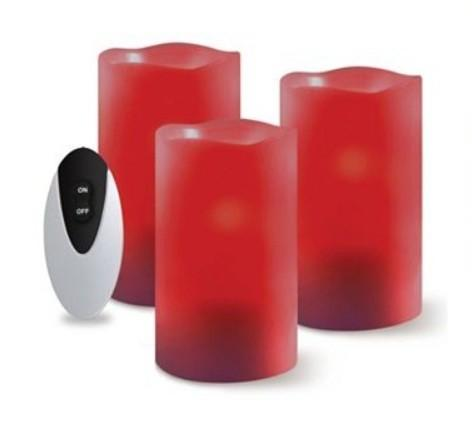 Want the visual warmth of holiday candles without that pesky risk of fire or the arduous search for a pack of matches? LED candles are what you¿re looking for. And with an accompanying remote control, there¿s no need to even get off the couch. $14.99, regular price $29.99 Kohls.com