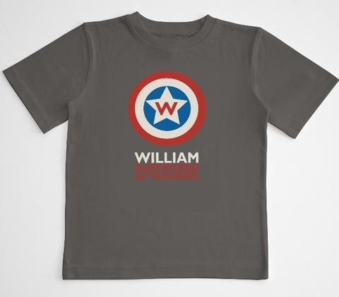 Save the day every day with this customizable superhero T-shirt. Does this come in adult sizes? $19.95 at marblesthebrainstore.com