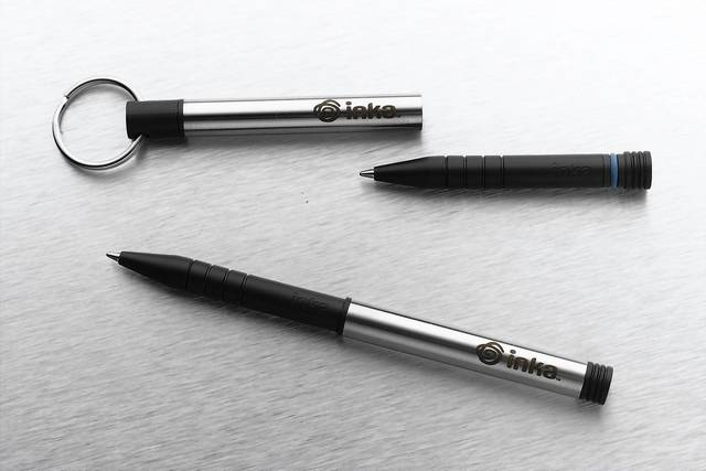 When inspiration strikes, be ready to write with the Write Anywhere Inka Pen. ($24.95, bit.ly/1bYizej)