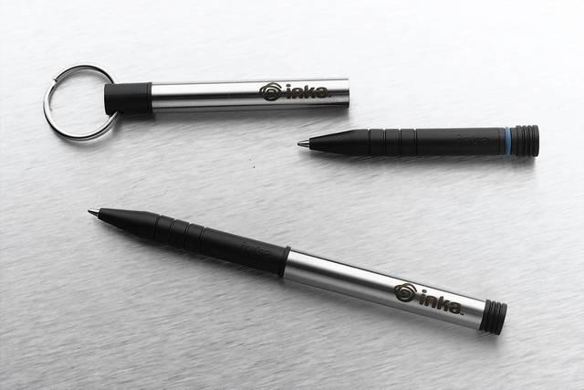 When inspiration strikes, be ready to write with the Write Anywhere Inka Pen. ($24.95, bit.ly/1bYizej)
