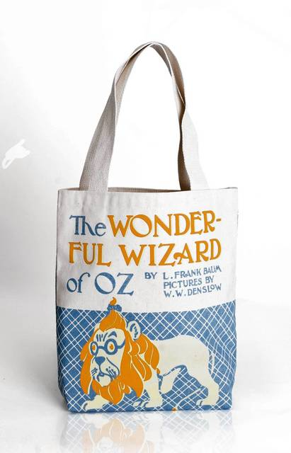 Carry around the wonderful Wizard of Oz with this tote from Out of Print. ($18, bit.ly/1cFl7fi)