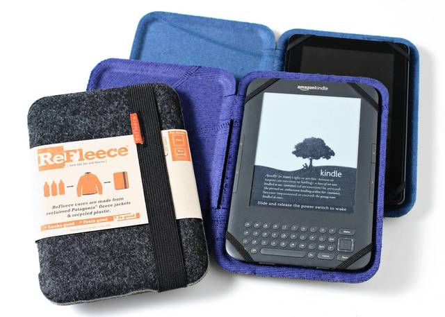 Even your Kindle gets cold when winter hits. Keep it warm with the ReFleece from The Grommet. ($32, bit.ly/18IvdNN)