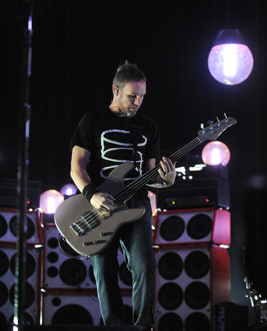 Pearl Jam performs at the Baltimore Arena.