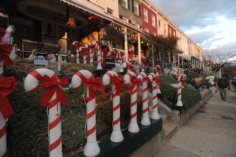 Final preparations were being made for the 34th Street Christmas extravaganza in its 65th year of the celebration.
