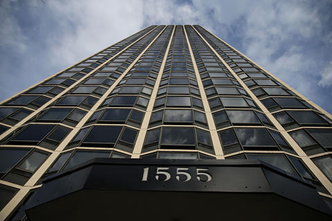 The building at 1555 N. Astor St. in Chicago has been the scene of two deadly plunges down its garbage chutes. Florence Banta, 80, fell down a chute over the weekend. Last year Charlie Manley, a 16-year-old with Down syndrome and autism, fell 46 floors to his death.