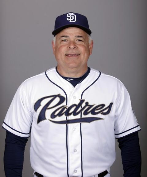 Cubs manager Rick Renteria served two seasons as San Diego Padres bench coach.