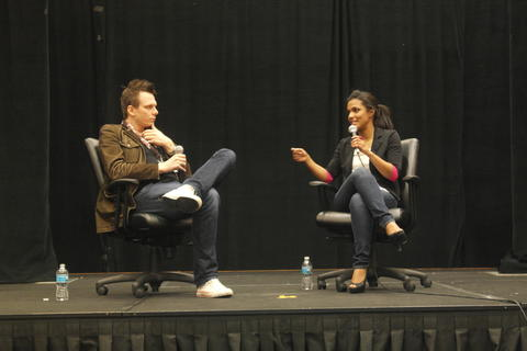 Ninth Doctor Companion Freema Agyeman discusses the show during her Sunday Q & A.