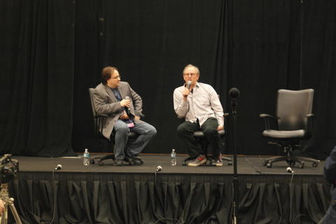 "5th Doctor Peter Davison discusses his comedy ""The Five(ish) Doctors Reboot."""