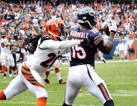 Week 1: Brandon Marshall caught the third touchdown of the season when he beat Bengals free safety Reggie Nelson in the fourth quarter.
