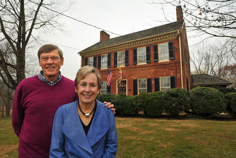 Appler-Englar Farm, a Federal-style home built in 1790, has been the home of John and Sandi Kroh since 1972.