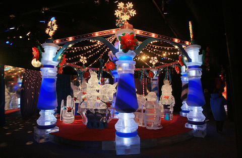Carousel at the Gaylord Palms' ICE attraction.
