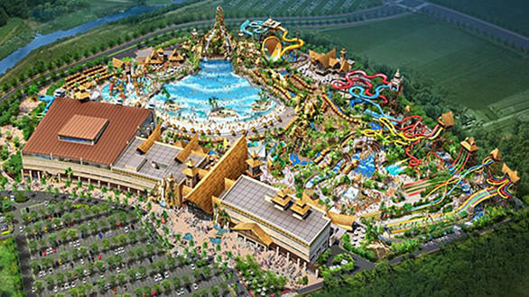 A $22-million contract with WhiteWater West will introduce dueling Master Blaster water coasters and an AquaLoop inverted looping slide as well as the Canadian company's Rattler, Python, Boomerango, Abyss and Whizzard slides. The new water park will also include a pair of wave pools, a surfing simulator and a water play structure.