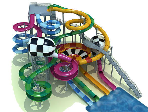 The $23-million water park in suburban Henderson will feature a 1950s and '60s beach theme. Polin will provide many of the slides including the world's first Surf Safari with a wave-shaped bowl as well as a mat racer slide with a unique uphill finale.