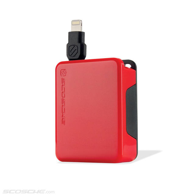 The boltBOX Retractable Charge Cable by Scosche