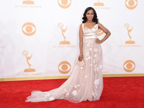 "Washington was named People Magazine's Best Dressed Woman in the World, but her character, Olivia Pope, is equally a vision on the hit ABC drama ""Scandal."" I've said it once and I'll say it again: a bold woman wears white. And Washington wears it a lot on screen."