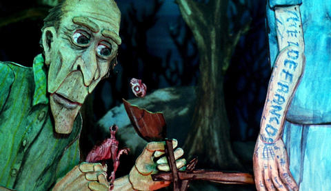 """""""Consuming Spirits,"""" directed by Chris Sullivan A town's secrets percolate, brilliantly, in the Chicago educator's long-gestating animated feature. -- Michael Phillips"""